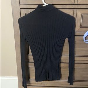 Size small black turtleneck